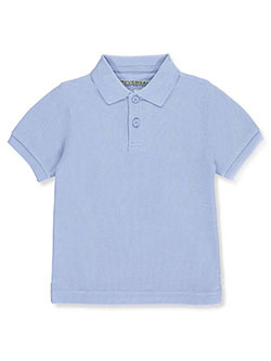 Unisex S/S Pique Polo by Universal in blue, burgundy, yellow and more - $13.00