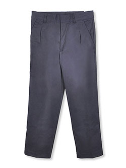 Universal Little Boys' Pleated Pull-On Pants (Sizes 4 - 7) - CookiesKids.com