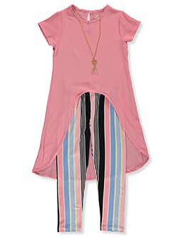 Angel Face Girls Born to Sparkle 2-Piece Sweatsuit Pants Set
