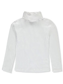 Girls' Turtleneck by One Step Up in White