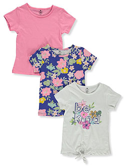 Girls' 3-Pack Shirts by One Step Up in Multi
