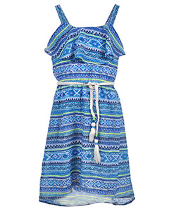 "Star Ride Big Girls' ""Aquamarine"" Dress (Sizes 7 – 16) - CookiesKids.com"
