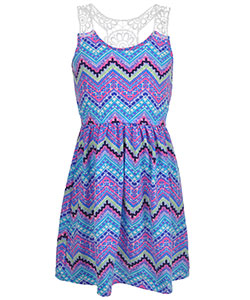 "Star Ride Big Girls' ""Bondi"" Dress (Sizes 7 – 16) - CookiesKids.com"