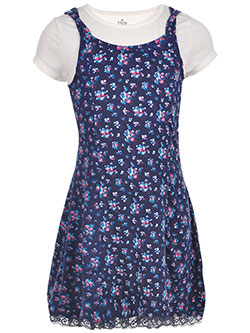 "Star Ride Big Girls' ""Lace-Up Flora"" Dress (Sizes 7 – 16) - CookiesKids.com"