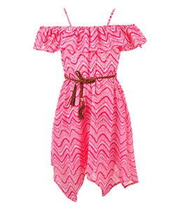 Star Ride Girls' Belted Dress - CookiesKids.com