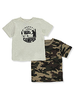Boys' 2-Pack T-Shirts by Hawk in Assorted