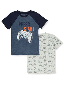 Boys' Gamer 2-Pack T-Shirts by Hawk in Assorted