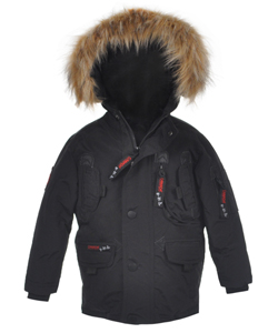 "Canada Weather Gear Big Boys' ""Pocket Panels"" Insulated Parka (Sizes 8 – 20) - CookiesKids.com"