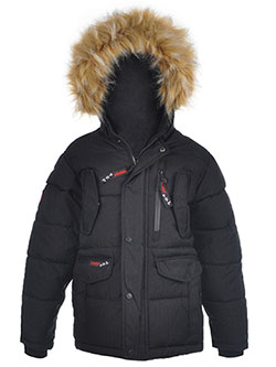 "Canada Weather Gear Big Boys' ""Pocket Textures"" Insulated Jacket (Sizes 8 – 20) - CookiesKids.com"