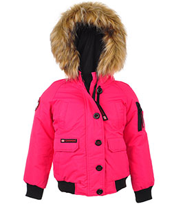 Canada Weather Gear Big Girls' Insulated Jacket (Sizes 7 – 16) - CookiesKids.com