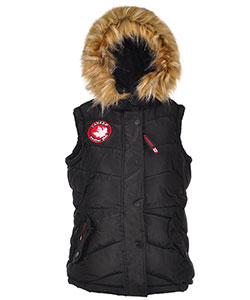 Canada Weather Gear Big Girls' Insulated Vest (Sizes 7 – 16) - CookiesKids.com