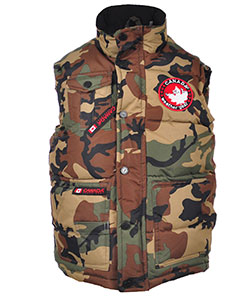 Canada Weather Gear Big Boys' Insulated Vest (Sizes 8 – 20) - CookiesKids.com