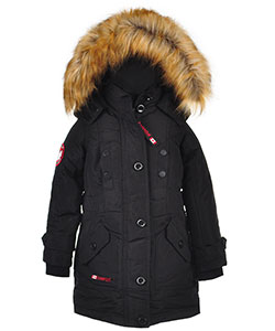 Canada Weather Gear Little Girls' Insulated Parka (Sizes 4 – 6X) - CookiesKids.com