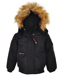 Canada Weather Gear Little Boys' Toddler Insulated Jacket (Sizes 2T – 4T) - CookiesKids.com