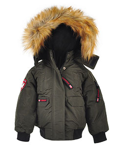 Canada Weather Gear Little Boys' Insulated Jacket (Sizes 4 – 7) - CookiesKids.com