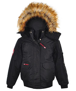 Canada Weather Gear Big Boys' Insulated Jacket (Sizes 8 – 20) - CookiesKids.com