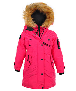 Canada Weather Gear Big Girls' Insulated Parka (Sizes 7 – 16) - CookiesKids.com