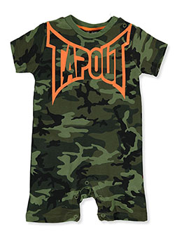 Baby Boys' Romper by Tapout in Olive multi - Rompers