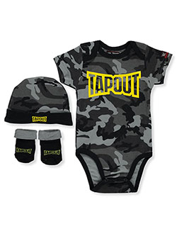 Baby Boys' 3-Piece Layette Set by Tapout in Midnight