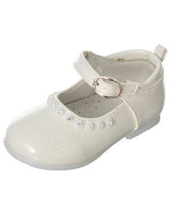Tendertoes Baby Girls' Bejeweled Mary Jane Shoes - CookiesKids.com