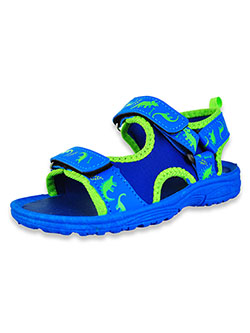 Boys' Dinosaur Sandals by Shoe Shox in Blue