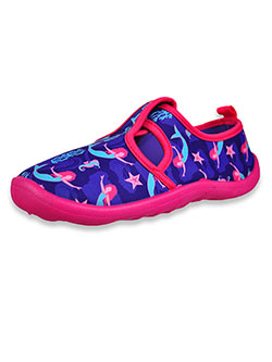 Girls' Mermaid Water Shoes by Aqua Kiks in Purple