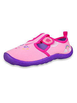 Girls' Unicorn Water Shoes by Aqua Kiks in Pink