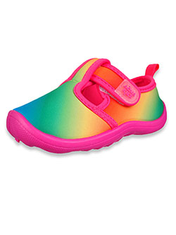 Girls' Rainbow Water Shoes by Aqua Kiks in Rainbow, Shoes