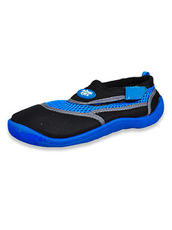 Boys' Water Shoes by Aqua Kiks in Blue/black