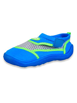 Boys' Water Shoes by Aqua Kiks in Blue/green