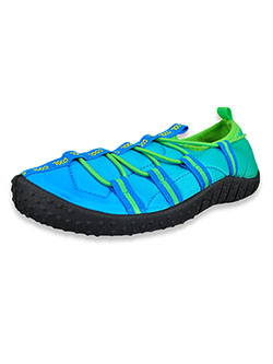 Boys' Cool Water Shoes by Aqua Kiks in black/yellow and blue/green