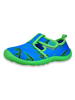 Boys' Dinosaur Water Shoes by Aqua Kiks in Blue/multi