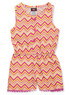 Baby Girls' Romper by Diva in fuchsia/multi and turquoise/multi