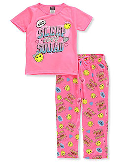 Girls' 2-Piece Pajamas by Angel Face in Hot pink multi, Girls Fashion