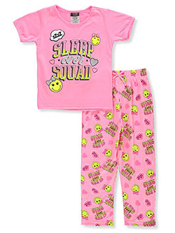 Girls' 2-Piece Pajamas by Angel Face in Pink/multi