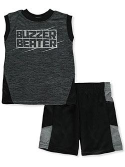 Pro Athlete Boys Dribble 2-Piece Shorts Set Outfit