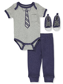 Baby Boys' 3-Piece Layette Set by Precious Moments in Multi, Infants