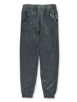 Boys' Tech Joggers by SLAM in charcoal and gray, Boys Fashion