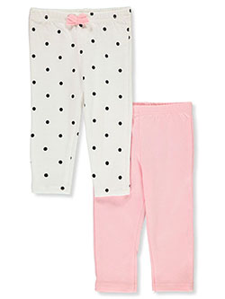 Baby Girls' 2-Pack Joggers by Funny Bunny in Multi - $5.99