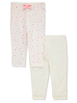 Baby Girls' 2-Pack Joggers by Funny Bunny in Multi