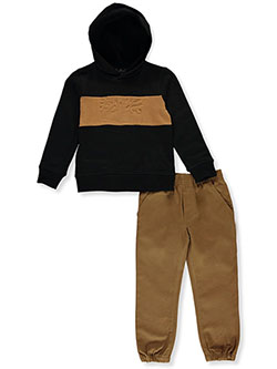 Tree Logo 2-Piece Joggers Set Outfit by Timberland in Multi