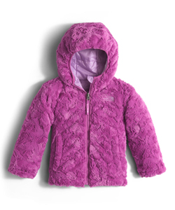 The North Face Little Girls' Toddler Reversible Mossbud Jacket (Sizes 2T – 4T) - CookiesKids.com