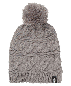 The North Face Women's Triple Cable Pom Beanie - CookiesKids.com