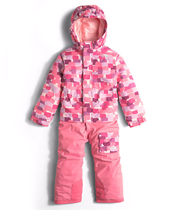The North Face Little Girls' Toddler Insulated Jumpsuit (Sizes 2T – 4T) - CookiesKids.com