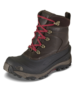 Men's Chilkat II Luxe Boots by The North Face in Coffee brown/shroom brown