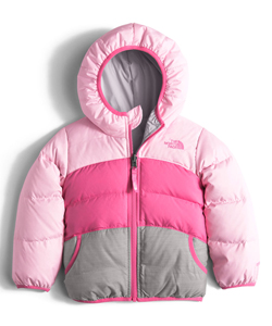 The North Face Little Girls' Toddler Reversible Moondoggy Jacket (Sizes 2T – 4T) - CookiesKids.com