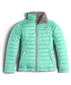 The North Face Big Girls' Reversible Mossbud Jacket (Sizes 7 – 16) - CookiesKids.com