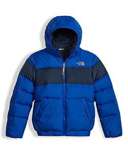 The North Face Big Boys' Moondoggy 2.0 Down Hoodie (Sizes 7 – 20) - CookiesKids.com