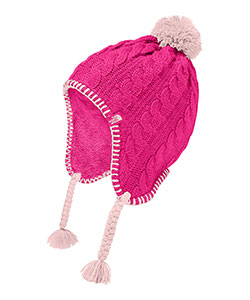 The North Face Girls' Fuzzy Earflap Beanie (Sizes S – XL) - CookiesKids.com