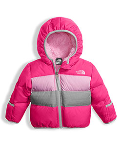 The North Face Baby Girls' Reversible Moondoggy Down Jacket - CookiesKids.com
